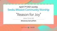 Reason for Joy.